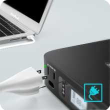 AC outlet power ports