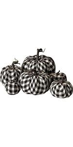 Thanksgiving Artificial Pumpkins Decoration, Lattice Pattern