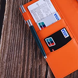 Antner A6 PU Leather Notebook Binder