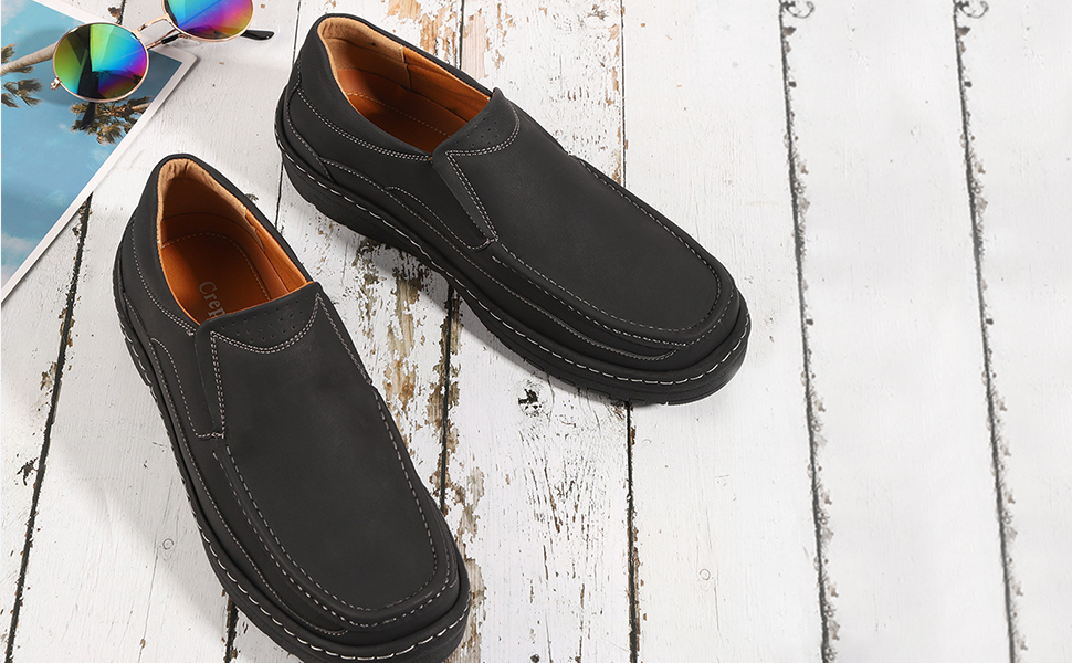Mens Slip on Loafers Shoes