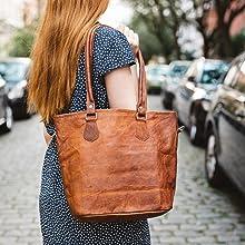 Therese Gusti Leder Bag