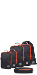 compression cube set, compression cubes, compression cubes for travel, packing cubes for travel