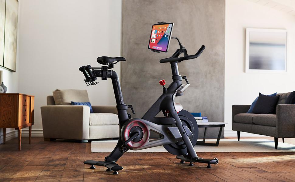 spin bike ipad mount