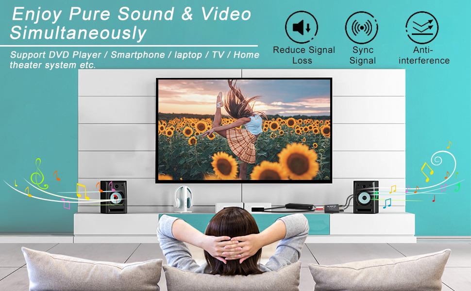 rca to optical audio converter converter box for tv digital analog converter dvd blue ray player