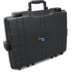 hard shell style carrying case for laptops military grade