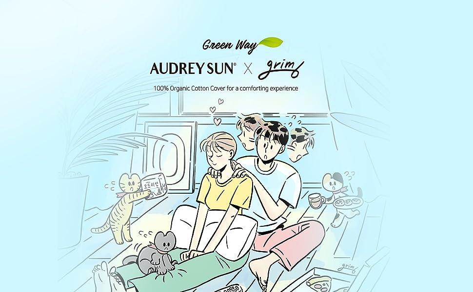 Audrey Sun Organic Cotton Menstrual Pads brand story