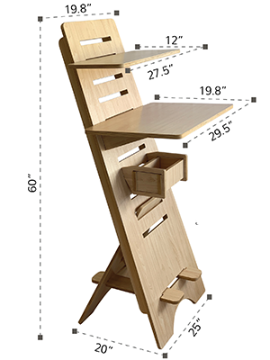 STAND UP DESK HOME OFFICE