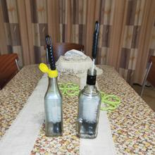 Wine bottle brush