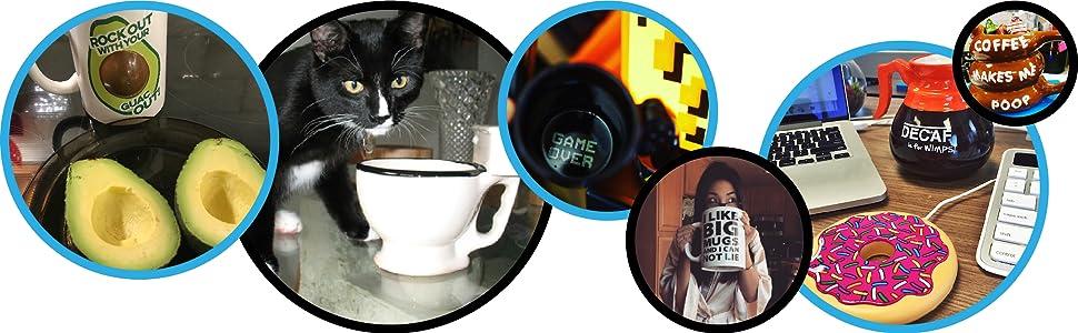 bigmouth funny mugs