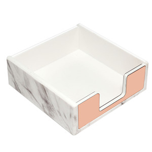 memo staicky notes binder clips holder cube case gift idea desk organizer