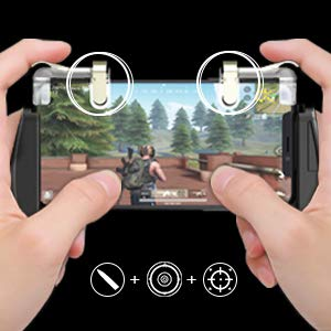 GameSir F2 Mobile Game Controller, Mobile Grip Jostick Set for PUBG/Knives Out/Rules of Servival