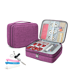 Electronics Organizer Travel Cable Cord Wire Bag Accessories Gadget Gear Storage Case