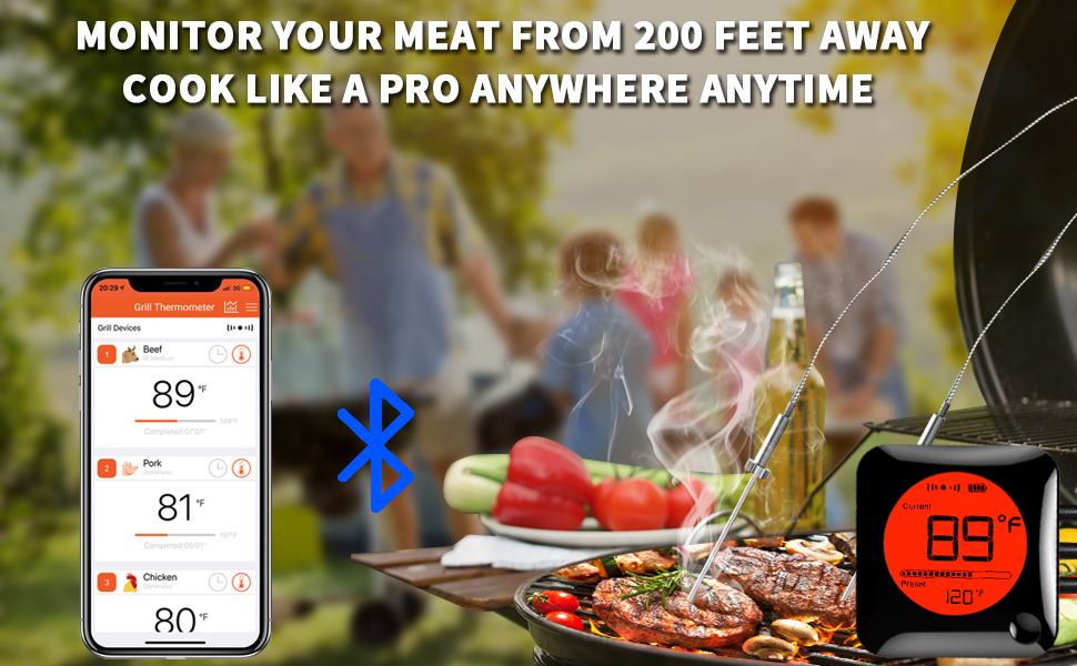 meat thermometer instant read for grill