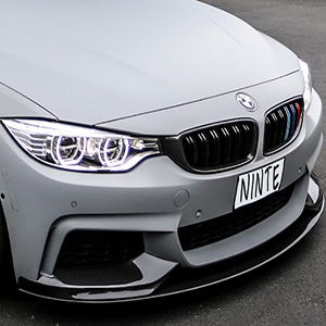 2014-2020 BMW 4 Series F32 F33 F36, Front Lip amp; Rear Diffuser amp; Side Skirts ABS M Sport