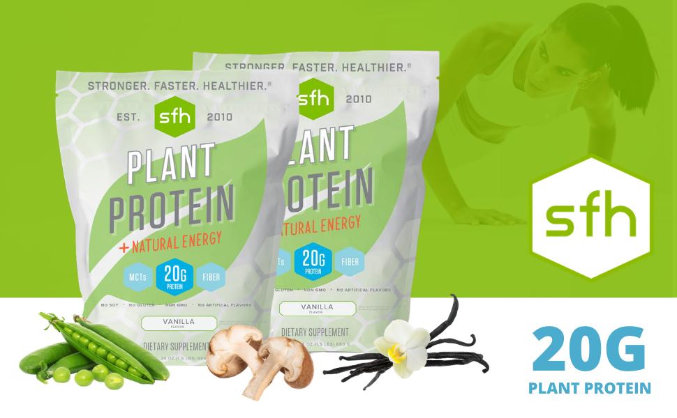 plant based protein, pea protein, blant based vegan protein