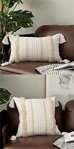 OJIA Boho Throw Pillow Cover