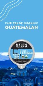 Organic Coffee Pods Fair Trade Guatemala, Colombia Coffee, Ethiopia, Mexican, Honduras, Espresso
