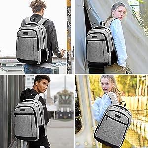 College Computer Bookbag