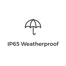 icon IP65 Weatherproof