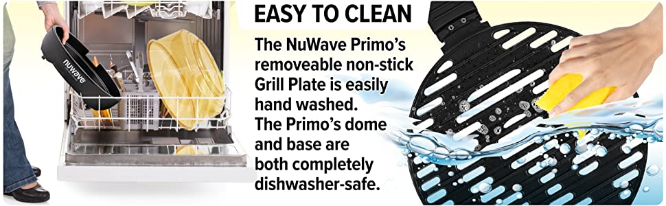 Nuwave Primo Easy Clean Up
