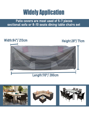 large patio furniture cover