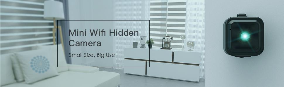 Mini Camara Espia Oculta Videocámara, CACAGOO 1080P HD WiFi Cámara ...