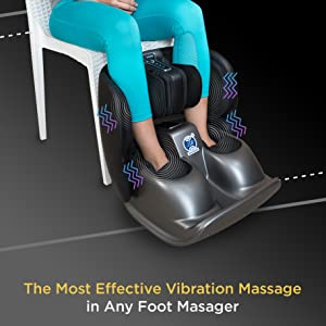 vibration massage for foot and calf
