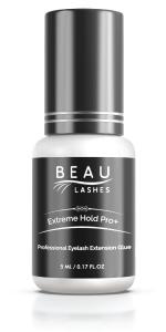 Beau Lashes Extreme Hold Pro+ Eyelash Extension Glue Bottle