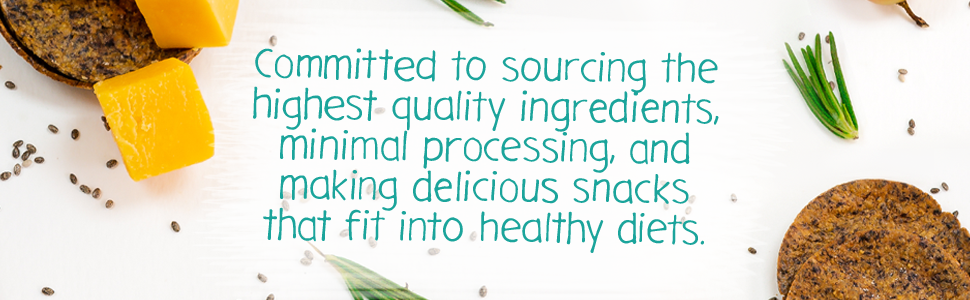 committed to sourcing the highest quality ingredients minimal processing and making delicious snacks