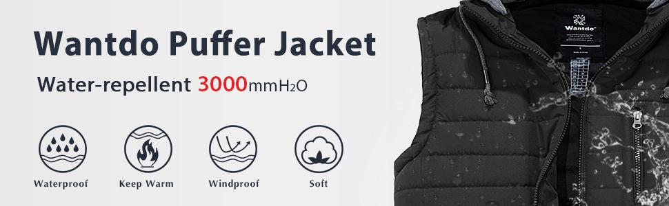 Wantdo Men Thicken Winter Coat