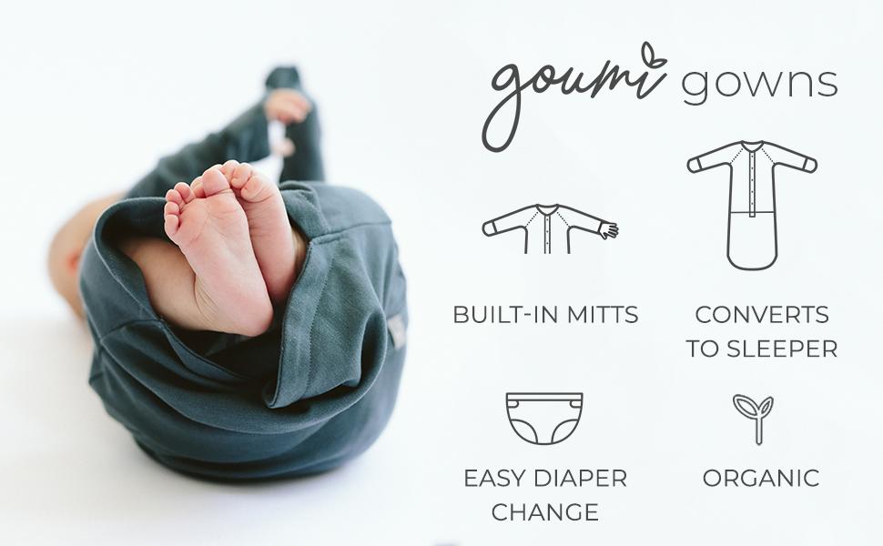Goumi gowns