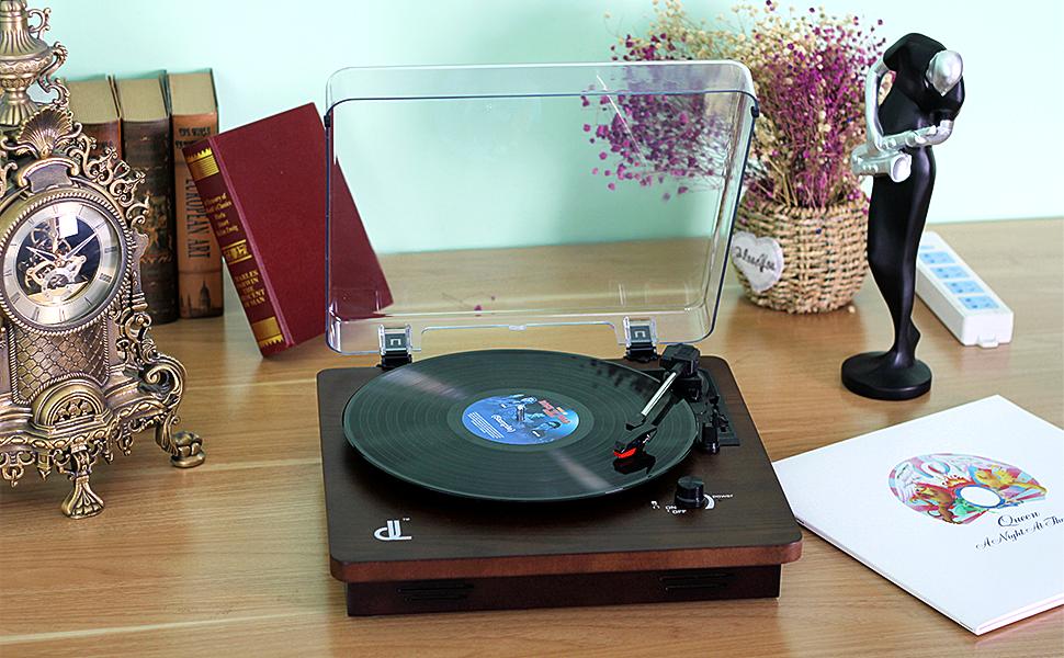 Giradiscos de dl Record Player Reproductor de Grabación de Vinilo ...
