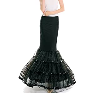 mermaid dress slips
