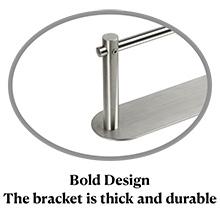 Diseño llamativo (el soporte es grueso y duradero)