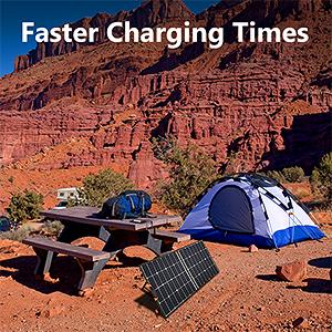 folding solar panel 100w