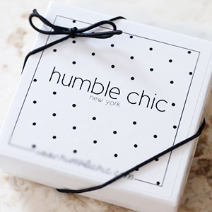 Humble Chic Tiny Heart Necklace - Delicate Dainty Pendant Chain Link Mini Charm