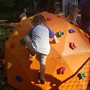 Orgrimmar 25PCS Rock Climbing Holds For Kids And Adults Indoor And Outdoor