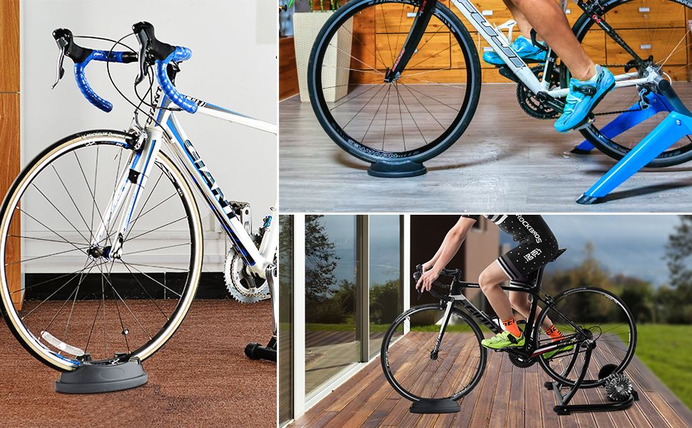 Bicycle Bike Front Wheel Support Riser Block Balance Stabilizer Indoor Trainers
