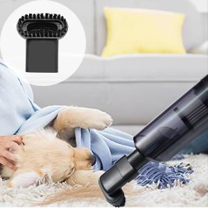 Aspiradora de Mano, 6000PA Aspirador de Mano Sin Cable Puede Purificar el Aire, 25 Minutos de Duración de la Batería Aspirador Coche, Filtro HEAP Reutilizable, Adecuado Para el Hogar, la Oficina, Auto: