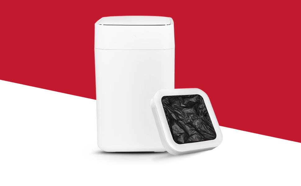 motion sensor trash can kitchen trash can smart kitchen, automatic trash can, trash bin