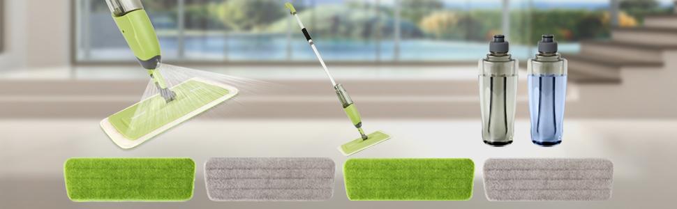 Spray Mop Floor Cleaning Kit