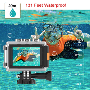 40m Underwater