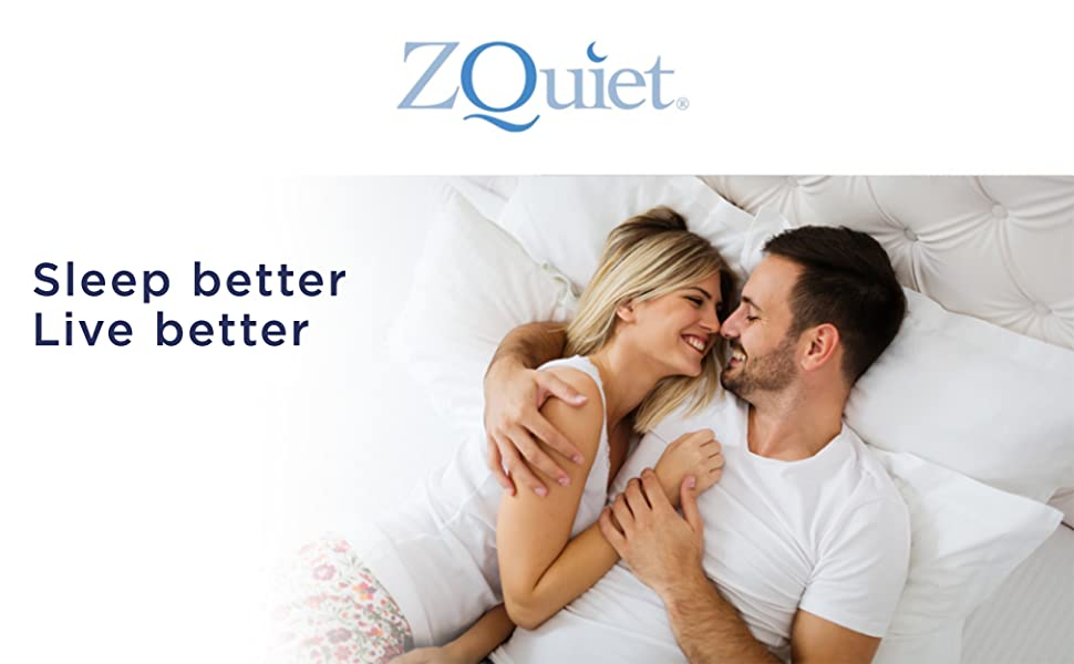 The ZQuiet Comfort Mouthpiece is a dentist-designed, in-mouth, anti-snoring device.