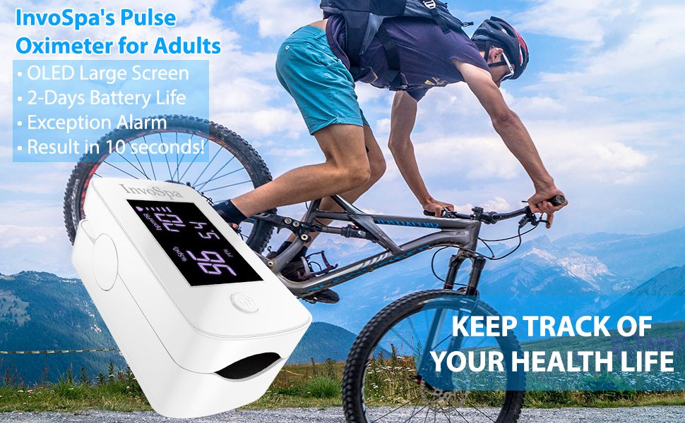 InvoSpa's Pulse Oximeter for Adults
