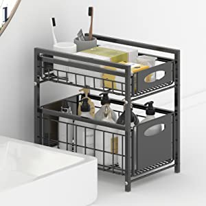 Pull Out Sliding Storage Drawer