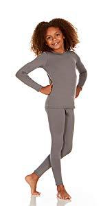 Thermajane Girls Thermal Underwear Set