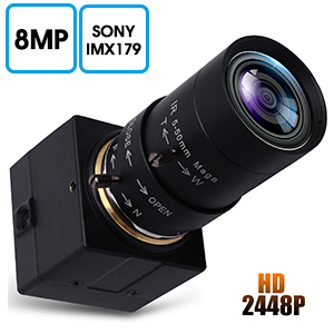 2.8-12mm zoom focus usb webcam low light usb camera