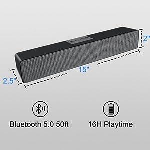 pc speakers small Mini  Speaker for PC Wired SoundBar