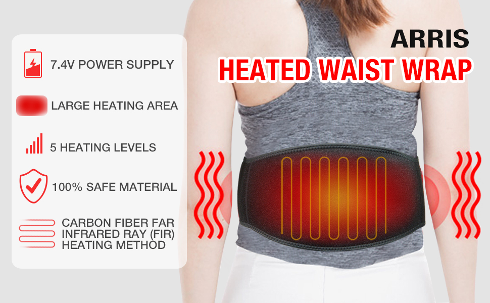 heating pad for lower back