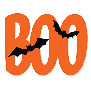 Halloween Yard Display Boo!